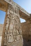 αιγυπτιακός hieroglypic ναός γλυπ& Στοκ φωτογραφίες με δικαίωμα ελεύθερης χρήσης