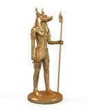 Αιγυπτιακό άγαλμα Anubis Απεικόνιση αποθεμάτων