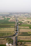 Αιγυπτιακό αγρόκτημα στοκ φωτογραφία
