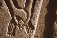 αιγυπτιακό ανάγλυφο Στοκ εικόνα με δικαίωμα ελεύθερης χρήσης