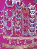 αιγυπτιακό γυαλί χαντρών εθνικό Στοκ Εικόνα