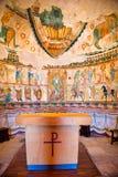 Αιγυπτιακό δωμάτιο στο μουσείο Poble Espanyol, Βαρκελώνη Στοκ Φωτογραφίες