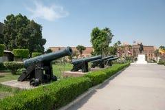 Αιγυπτιακό εθνικό στρατιωτικό μουσείο στοκ εικόνες με δικαίωμα ελεύθερης χρήσης