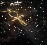 Αιγυπτιακό διαγώνιο Ankh Στοκ φωτογραφία με δικαίωμα ελεύθερης χρήσης