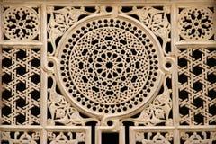 αιγυπτιακό παράθυρο διακοσμήσεων Στοκ Φωτογραφίες