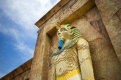 Αιγυπτιακό πρότυπο Pharaoh Lego Στοκ εικόνες με δικαίωμα ελεύθερης χρήσης