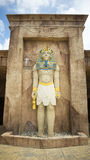 Αιγυπτιακό πρότυπο Pharaoh Lego Στοκ φωτογραφία με δικαίωμα ελεύθερης χρήσης