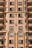 αιγυπτιακό σπίτι προσόψε&omega Στοκ Εικόνα