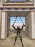 αιγυπτιακό τέρας φαντασίας anubis Στοκ εικόνα με δικαίωμα ελεύθερης χρήσης