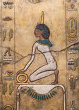 Αιγυπτιακό χειροποίητο αντικείμενο στοκ φωτογραφία