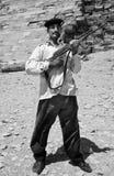 Αιγυπτιακό όπλο Στοκ Εικόνες
