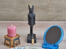 Αιγυπτιακό Divination του μέλλοντος Στοκ εικόνες με δικαίωμα ελεύθερης χρήσης