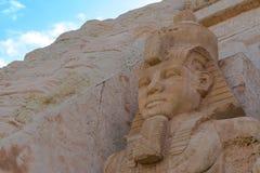 Αιγυπτιακό Pharaoh Ramses δύο ο μεγάλος Στοκ εικόνες με δικαίωμα ελεύθερης χρήσης
