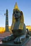 αιγυπτιακό sphinx Στοκ φωτογραφία με δικαίωμα ελεύθερης χρήσης