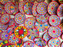 Αιθιοπικά χειροποίητα καλάθια Habesha που πωλούνται σε Axum, Αιθιοπία Στοκ Εικόνες