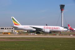 Αιθιοπικές αερογραμμές Στοκ Εικόνα