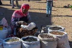 Αιθιοπική αγορά οδών Στοκ φωτογραφίες με δικαίωμα ελεύθερης χρήσης