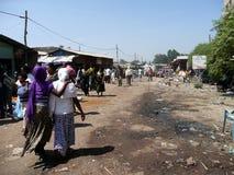 αιθιοπική αγορά Στοκ Εικόνα
