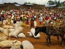 Αιθιοπική αγορά Στοκ φωτογραφία με δικαίωμα ελεύθερης χρήσης