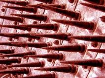 αιματηρές ακίδες Στοκ Φωτογραφία