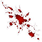 Αιματηρές σταγόνες Στοκ φωτογραφία με δικαίωμα ελεύθερης χρήσης