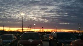 αιματηρός ουρανός στοκ εικόνα
