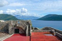 Αιματηρός πύργος kanli-Kula φρουρίων, Herceg Novi, Μαυροβούνιο Στοκ Φωτογραφία