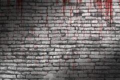αιματηρός τοίχος Στοκ εικόνες με δικαίωμα ελεύθερης χρήσης