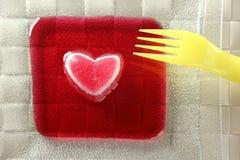 αιματηρός φάτε τη φράουλα &zet Στοκ Εικόνα
