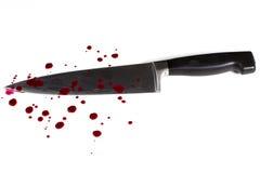 Αιματηρό μαχαίρι Στοκ φωτογραφία με δικαίωμα ελεύθερης χρήσης