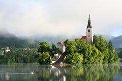 Αιμορραγημένη λίμνη στοκ φωτογραφία με δικαίωμα ελεύθερης χρήσης
