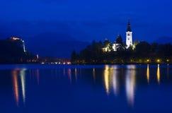 αιμορραγημένη νύχτα Στοκ Εικόνες