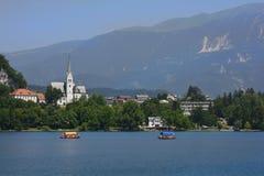 αιμορραγημένος vintgar καταρράκτης αιθαλομίχλης της Σλοβενίας Στοκ φωτογραφίες με δικαίωμα ελεύθερης χρήσης