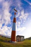 Αιολική ενέργεια Στοκ εικόνες με δικαίωμα ελεύθερης χρήσης