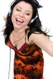 αισθανθείτε τη μουσική Στοκ εικόνες με δικαίωμα ελεύθερης χρήσης