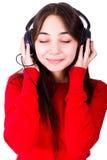 αισθανθείτε τη μουσική στοκ εικόνες