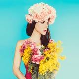 Αισθησιακή κυρία μόδας Στοκ Φωτογραφίες