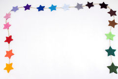 Αισθητά αστέρια Στοκ Εικόνες