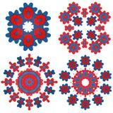 αισθητά λουλούδια που &al Στοκ Εικόνες