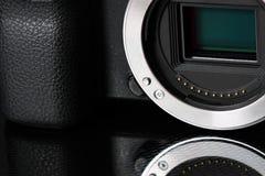 Αισθητήρας ψηφιακών κάμερα Στοκ Εικόνα