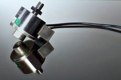 Αισθητήρας Tensometric που χρησιμοποιείται στην κουζίνα και τις προσωπικές κλίμακες στοκ εικόνες με δικαίωμα ελεύθερης χρήσης