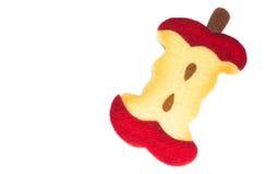 αισθητός πυρήνας μήλων Στοκ φωτογραφία με δικαίωμα ελεύθερης χρήσης