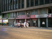 Αισιόδοξο κατάστημα σε Pireas, Αθήνα στοκ φωτογραφία με δικαίωμα ελεύθερης χρήσης