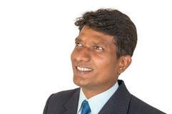 Αισιόδοξο ινδικό άτομο Στοκ Εικόνες