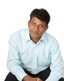 Αισιόδοξο ινδικό άτομο Στοκ Φωτογραφίες