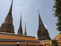 Αιχμές της μεγάλης κατοικίας βασιλιάδων Thailands παλατιών στοκ φωτογραφίες με δικαίωμα ελεύθερης χρήσης