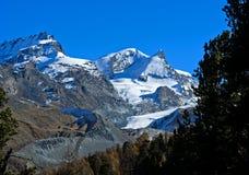 Αιχμές Zermatt στοκ εικόνα με δικαίωμα ελεύθερης χρήσης