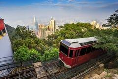 Αιχμή Βικτώριας Χονγκ Κονγκ στοκ φωτογραφίες με δικαίωμα ελεύθερης χρήσης