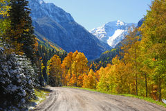 Αιχμή βουνών του Hayden Στοκ Φωτογραφία