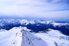 αιχμή βουνών στοκ εικόνες